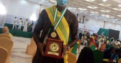 Oyeshola Segun Emmanuel, Awardee