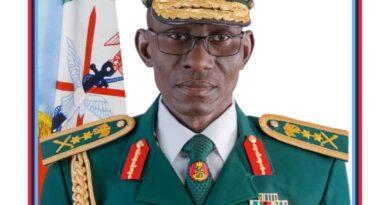Gen. LEO Irabor, Chief of Defence Staff