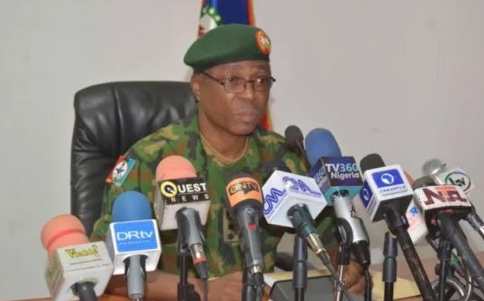 Brig-Gen. Onyema Nwachuckwu, Army Spokesperson
