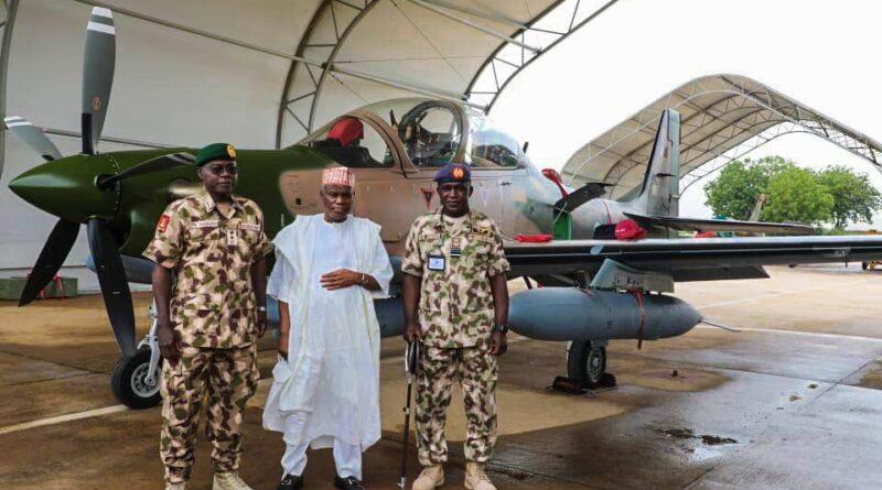 Arrival of Super Tucano to Nigeria