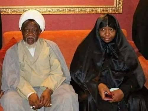 Sheikh Ibrahim Zakzaky and wife