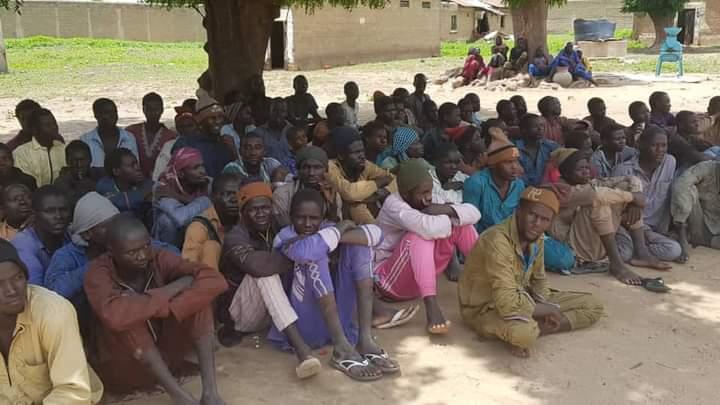 Surrendered Boko-ISWAP Terrorists