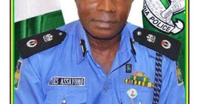 CP Emienbo Tuesday, Kwara Police Command