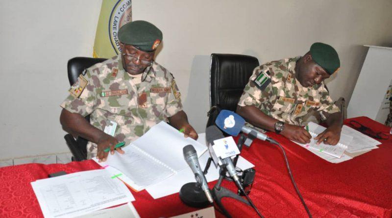 Maj.-Gen. Abdul Khalifah Ibrahim of MNJTF