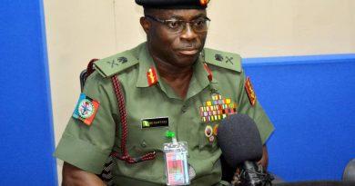 Maj.-Gen. Benjamin Olufemi Sawyerr, Defence Spokesperson